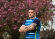 23 April 2018; Andrew Porter during a Leinster Rugby Press Conference at UCD in Belfield, Dublin. Photo by Eóin Noonan/Sportsfile