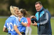 22 April 2018; Dublin manager Mick Bohan before the Lidl Ladies Football National League Division 1 semi-final match between Dublin and Galway at Coralstown Kinnegad GAA in Kinnegad, Westmeath. Photo by Piaras Ó Mídheach/Sportsfile