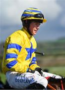 25 April 2018; Jockey Adam Short after winning the Adare Manor Opportunity Series Final Handicap Hurdle on Prince Garyantle at Punchestown Racecourse in Naas, Co. Kildare. Photo by Seb Daly/Sportsfile