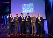 21 April 2018; Na Piarsaigh players with their awards at the AIB GAA Club Player Awards at Croke Park in Dublin. Photo by Eóin Noonan/Sportsfile