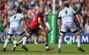 22 April 2018; Simon Zebo of Munster in action against Yannick Nyanga, left, and Donnacha Ryan of Racing 92 during the European Rugby Champions Cup semi-final match between Racing 92 and Munster Rugby at the Stade Chaban-Delmas in Bordeaux, France. Photo by Brendan Moran/Sportsfile