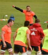 30 April 2018; CJ Stander during Munster Rugby Squad Training at University of Limerick, Co Limerick. Photo by Piaras Ó Mídheach/Sportsfile