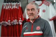30 April 2018; Tyrone Manager Mickey Harte during the Launch of the Ulster Senior Football Championship 2018 in Strabane, Co Tyrone. Photo by Oliver McVeigh/Sportsfile