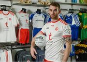 30 April 2018; Ronan McNamee of Tyrone during the Launch of the Ulster Senior Football Championship 2018 in Strabane, Co Tyrone. Photo by Oliver McVeigh/Sportsfile