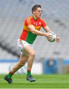 31 March 2018; Brendan Murphy of Carlow during the Allianz Football League Division 4 Final match between Carlow and Laois at Croke Park in Dublin. Photo by Piaras Ó Mídheach/Sportsfile