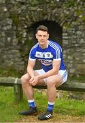 3 May 2018; John O'Loughlin of Laois during the Launch of the 2018 Leinster Senior Football Championship at Trim Castle in Trim, Co Meath. Photo by Eóin Noonan/Sportsfile