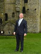 3 May 2018; Dublin manager Jim Gavin during the Launch of the 2018 Leinster Senior Football Championship at Trim Castle in Trim, Co Meath. Photo by Eóin Noonan/Sportsfile
