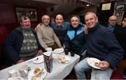 3 May 2018; In attendance, from left, members of the Cabra Mensia football team, Tony Bradshaw, John Kelly, Paddy Travers, Jimmy Falloon and Paul Kelly during the Bohemian FC: More Than A Club - Alzheimer's Awareness at the Members Bar in Dalymount Park, Co Dublin. Photo by David Fitzgerald/Sportsfile