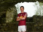 3 May 2018; John Heslin of Westmeath during the Launch of the 2018 Leinster Senior Football Championship at Trim Castle in Trim, Co Meath. Photo by Eóin Noonan/Sportsfile
