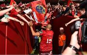 5 May 2018; Simon Zebo of Munster leaves the field following the Guinness PRO14 semi-final play-off match between Munster and Edinburgh at Thomond Park in Limerick. Photo by Sam Barnes/Sportsfile