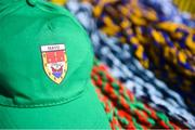 6 May 2018; A detailed view of a Mayo hat on sale outside Parnell Park prior to the Lidl Ladies Football National League Division 1 Final match between Dublin and Mayo at Parnell Park in Dublin. Photo by Tom Beary/Sportsfile