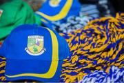 6 May 2018; A detailed view of a Tipperary hat on sale outside Parnell Park prior to the Lidl Ladies Football National League Division 2 Final match between Cavan and Tipperary at Parnell Park in Dublin. Photo by Tom Beary/Sportsfile