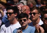 6 May 2018: Tom Daly, left, and Josh Van der Flier of Leinster watch on during the Ulster Bank League Division 1 Final match between Lansdowne and Cork Constitution at the Aviva Stadium in Dublin. Photo by David Fitzgerald/Sportsfile