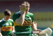 6 May 2018; Daniel O'Carroll of Kerry reacts after the Joe McDonagh Cup Round 1 match between Carlow and Kerry at Netwatch Cullen Park in Carlow. Photo by Matt Browne/Sportsfile