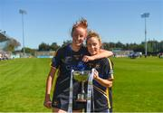 6 May 2018; Aishling Moloney, left, and Samantha Lambert of Tipperary with the cup after the Lidl Ladies Football National League Division 2 Final match between Cavan and Tipperary at Parnell Park in Dublin. Photo by Piaras Ó Mídheach/Sportsfile
