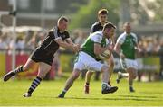 6 May 2018; Anthony McDermott of London, centre, in action against Adrian Marren of Sligo during the Connacht GAA Football Senior Championship Quarter-Final match between London and Sligo at McGovern Park in Ruislip, London, England. Photo by Harry Murphy/Sportsfile
