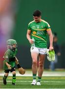 6 May 2018; Emlyn Mulligan of Leitrim leaves the pitch at half time during the Connacht GAA Football Senior Championship Quarter-Final match between New York and Leitrim at McGovern Park at Gaelic Park in New York, USA. Photo by Stephen McCarthy/Sportsfile