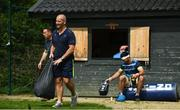 7 May 2018; Senior coach Stuart Lancaster arrives for Leinster Rugby squad training at UCD in Dublin. Photo by Ramsey Cardy/Sportsfile