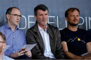 8 May 2018; Martin O'Neill and Roy Keane look on during the UEFA U17 Championship Final match between Republic of Ireland and Denmark at St Georges Park in Burton, England. Photo by Malcolm Couzens/Sportsfile