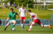 "8 May 2018; Adam O""Reilly of Republic of Ireland during the UEFA U17 Championship Final match between Republic of Ireland and Denmark at St Georges Park in Burton, England. Photo by Malcolm Couzens/Sportsfile"