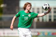 8 May 2018; Luca Connell of Republic of Ireland during the UEFA U17 Championship Final match between Republic of Ireland and Denmark at St Georges Park in Burton, England. Photo by Malcolm Couzens/Sportsfile