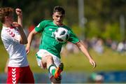 8 May 2018; Troy Parrott of Republic of Ireland during the UEFA U17 Championship Final match between Republic of Ireland and Denmark at St Georges Park in Burton, England. Photo by Malcolm Couzens/Sportsfile
