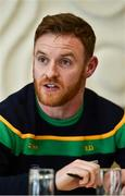 8 May 2018; Eamon Doherty at the Donegal GAA press conference at Villa Rose Hotel in Donegal. Photo by Oliver McVeigh/Sportsfile