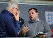 11 May 2018; Former Republic of Ireland international Andy Reid in attendance at the UEFA U17 Championship Finals Group C match between Bosnia & Herzegovina and Republic of Ireland at St George's Park, in Burton-upon-Trent, England. Photo by Malcolm Couzens/Sportsfile