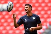 11 May 2018; Dan Carter during the Racing 92 Rugby Captain's Run at San Mames Stadium, in Bilbao, Spain. Photo by Brendan Moran/Sportsfile
