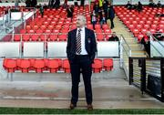 11 May 2018; Cork City manager John Caulfield before the SSE Airtricity League Premier Division match between Derry City and Cork City at Brandywell Stadium, in Derry. Photo by Oliver McVeigh/Sportsfile