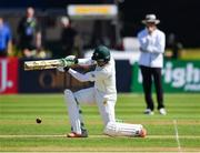 12 May 2018; Imam Ulhaq of Pakistan scores a boundary during day two of the International Cricket Test match between Ireland and Pakistan at Malahide, in Co. Dublin. Photo by Seb Daly/Sportsfile