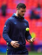 12 May 2018; Robbie Henshaw of Leinster prior to the European Rugby Champions Cup Final match between Leinster and Racing 92 at the San Mames Stadium in Bilbao, Spain. Photo by Brendan Moran/Sportsfile