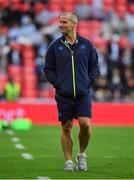 12 May 2018; Leinster senior coach Stuart Lancaster prior to the European Rugby Champions Cup Final match between Leinster and Racing 92 at the San Mames Stadium in Bilbao, Spain. Photo by Brendan Moran/Sportsfile