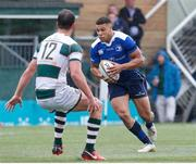 12 May 2018; Adam Byrne of Leinster A in action against Joe Monro of Ealing Trailfinders during the British & Irish Cup Final match at Trailfinders Sports Ground in London, England. Photo by Matt Impey/Sportsfile