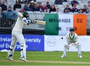 12 May 2018; William Porterfield of Ireland watches a shot played by Faheem Ashraf of Pakistan during day two of the International Cricket Test match between Ireland and Pakistan at Malahide, in Co. Dublin. Photo by Seb Daly/Sportsfile