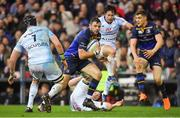 12 May 2018; Robbie Henshaw of Leinster on the attack during the European Rugby Champions Cup Final match between Leinster and Racing 92 at the San Mames Stadium in Bilbao, Spain. Photo by Brendan Moran/Sportsfile