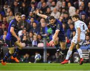 12 May 2018; Robbie Henshaw of Leinster in action against Teddy Iribaren of Racing 92 during the European Rugby Champions Cup Final match between Leinster and Racing 92 at the San Mames Stadium in Bilbao, Spain. Photo by Brendan Moran/Sportsfile