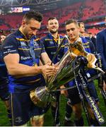 12 May 2018; Jack Conan of Leinster following their victory in the European Rugby Champions Cup Final match between Leinster and Racing 92 at the San Mames Stadium in Bilbao, Spain. Photo by Ramsey Cardy/Sportsfile