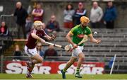 13 May 2018; Alan Douglas of Meath in action against Shane Power of Westmeath during the Joe McDonagh Cup Round 2 match between Westmeath and Meath at TEG Cusack Park in Westmeath. Photo by Sam Barnes/Sportsfile