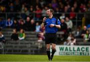 13 May 2018; Referee Colum Cunning during the Joe McDonagh Cup Round 2 match between Westmeath and Meath at TEG Cusack Park in Westmeath. Photo by Sam Barnes/Sportsfile