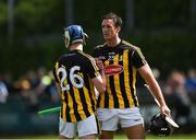 13 May 2018; Luke Scanlon, left, and Colin Fennelly of Kilkenny celebrate after the Leinster GAA Hurling Senior Championship Round 1 match between Dublin and Kilkenny at Parnell Park in Dublin. Photo by Daire Brennan/Sportsfile