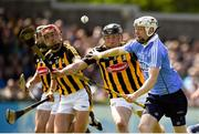 13 May 2018; Fiontán McGibb of Dublin in action against Conor Delaney of Kilkenny during the Leinster GAA Hurling Senior Championship Round 1 match between Dublin and Kilkenny at Parnell Park in Dublin. Photo by Daire Brennan/Sportsfile