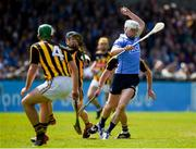 13 May 2018; Liam Rushe of Dublin in action against Enda Morrissey, left, and Cillian Buckley of Kilkenny during the Leinster GAA Hurling Senior Championship Round 1 match between Dublin and Kilkenny at Parnell Park in Dublin. Photo by Daire Brennan/Sportsfile