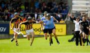 13 May 2018; Shane Durkin of Dublin in action against Conor Delaney of Kilkenny during the Leinster GAA Hurling Senior Championship Round 1 match between Dublin and Kilkenny at Parnell Park in Dublin. Photo by Daire Brennan/Sportsfile