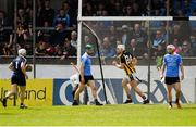 13 May 2018; Liam Blanchfield of Kilkenny celebrates after scoring his side's late goal during the Leinster GAA Hurling Senior Championship Round 1 match between Dublin and Kilkenny at Parnell Park in Dublin. Photo by Daire Brennan/Sportsfile