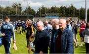 13 May 2018; Supporters leave the ground after the Leinster GAA Hurling Senior Championship Round 1 match between Dublin and Kilkenny at Parnell Park in Dublin. Photo by Daire Brennan/Sportsfile