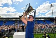 13 May 2018; Dan Leavy of Leinster during their homecoming at Energia Park in Dublin following their victory in the European Champions Cup Final in Bilbao, Spain. Photo by Ramsey Cardy/Sportsfile