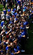 13 May 2018; Jonathan Sexton, Cian Healy, Sean O'Brien and James Ryan of Leinster sign autographs for fans during their homecoming at Energia Park in Dublin following their victory in the European Champions Cup Final in Bilbao, Spain. Photo by Brendan Moran/Sportsfile