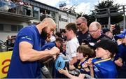 13 May 2018; Scott Fardy of Leinster during their homecoming at Energia Park in Dublin following their victory in the European Champions Cup Final in Bilbao, Spain. Photo by Ramsey Cardy/Sportsfile