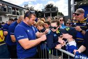 13 May 2018; Jack McGrath of Leinster during their homecoming at Energia Park in Dublin following their victory in the European Champions Cup Final in Bilbao, Spain. Photo by Ramsey Cardy/Sportsfile